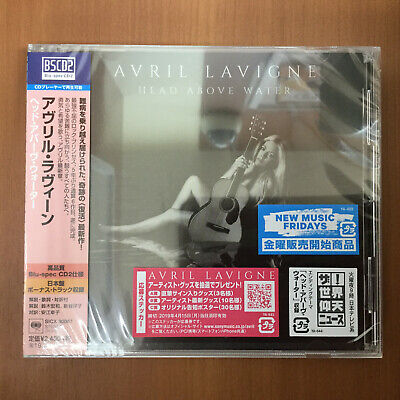 Japan Only Bonus Track! Avril Lavigne Head Above Water Bs Cd Sent From Berlin