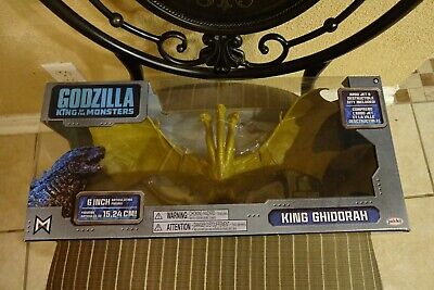 "GODZILLA KING OF THE MONSTERS 2019 MOVIE 6"" King Ghidorah Articulated Figure"