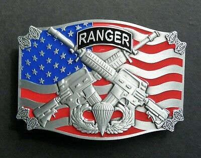 Us Army Airborne Ranger Belt Buckle 3.3 Inches Special Forces