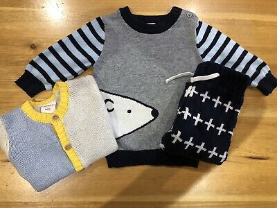Seed Heritage Knitwear Winter Essentials Pack 0-3 Mnths RRP $134.85