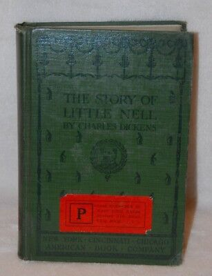Vintage Antique The Story of Little Nell Dickens 1901 American Book Company