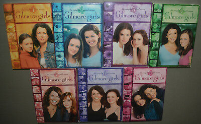 42 DVD set - Gilmore Girls: The Complete Series - seasons 1, 2, 3, 4, 5, 6, 7