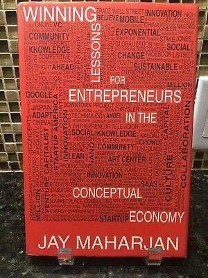SIGNED - Winning Lessons for Entrepreneurs in the Conceptual Economy J Maharjan
