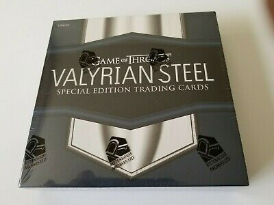 Game of Thrones Valyrian Steel trading cards box by Rittenhouse 2017