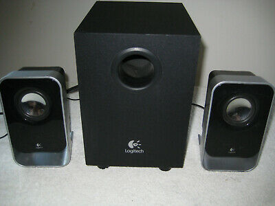 Logitech LS-21 Computer Speakers
