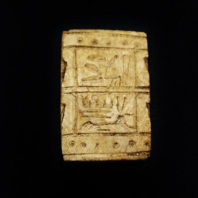 Rare Antique Ancient Egyptian Stone Seal  Amulet 300 B.C.