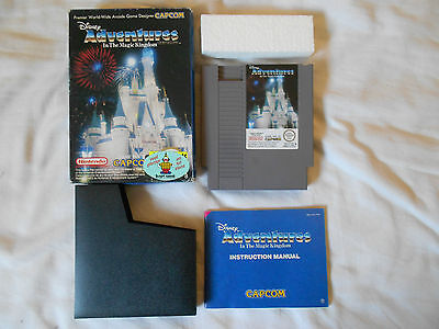 Adventures In The Magic Kingdom Pal Fra Completo Nintendo Nes Jeu Spiel Juego