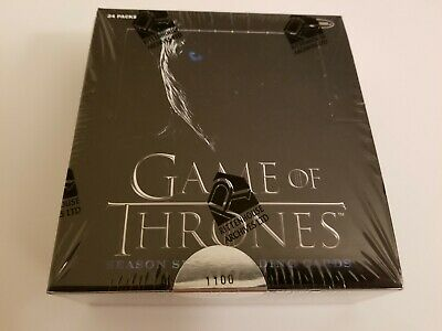 Game of Thrones Season 7 trading card box by Rittenhouse 2018