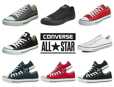 Converse Lo Top Trainer Unisex All Star Low Mens Womens Chuck Taylor Shoes