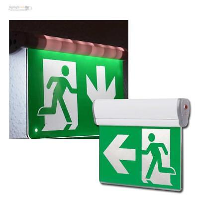 "Led Emergency Light Exit "" Nl-8 Multi "" Cover Wall Mount Notasugang"