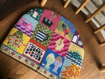 Vintage Colourful Tapestry Teacosy.