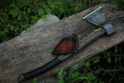 Battle Axe Hand Forged Viking Axe Custom Engraving Ancient Medieval husband gift