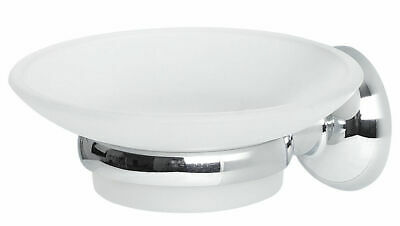 Spirella Campagne Chrome Soap Dish with Bracket Shiny Branded Product