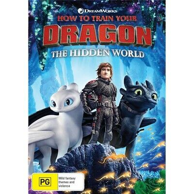 HOW TO TRAIN YOUR DRAGON:The Hidden world-Region 4-New AND Sealed
