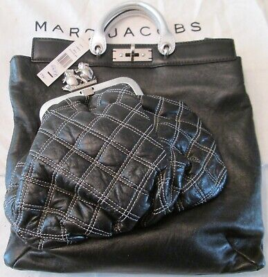 d7a83b3b6981 NWT AUTHENTIC  1950 NORDSTROM MARC JACOBS LEATHER FROG COLLECTION Bag FREE  SHIP