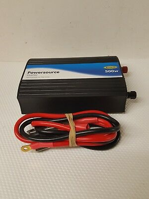 Ring Power source Inverter 500w Main Power On The Move