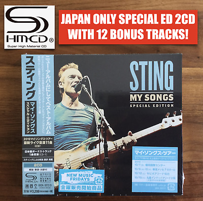 12x JAPAN ONLY BONUS TRACKS! SPECIAL EDITION 2x SHM-CD! STING BEST OF MY SONGS