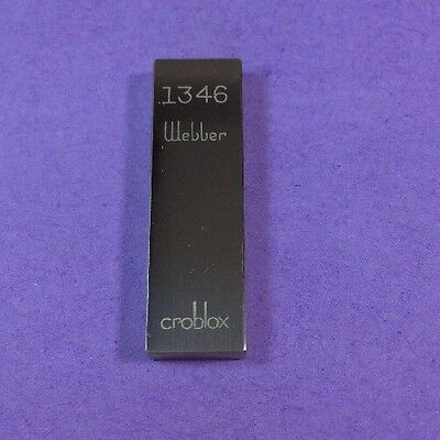 Gage Gauge Block Rectangle Webber Croblox .1346