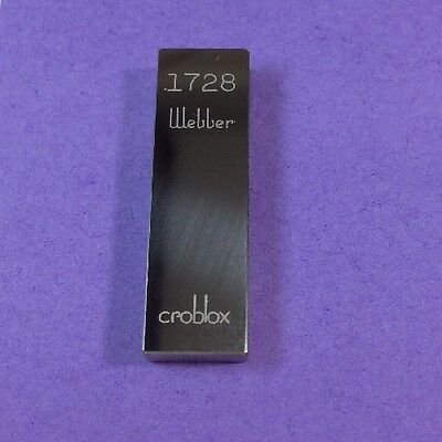 Gage Gauge Block Rectangle Webber Croblox .1728