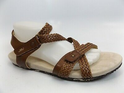 7291d6b1c83 JBU By Jambu Women s Loreta Gladiator Sandal Mahogany SZ 11.0 M NEW DISPLAY   415