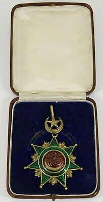 Antique Islamic Ottoman Turkish Medal Order of the Osmanieh