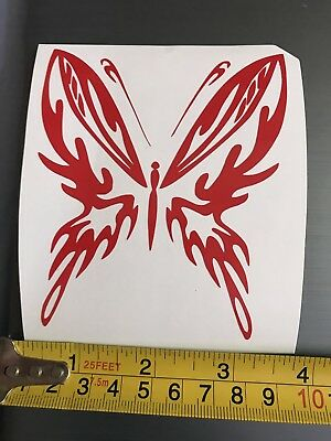 laptop more Tribal Butterfly Vinyl Decal fits car B004 26 available colors
