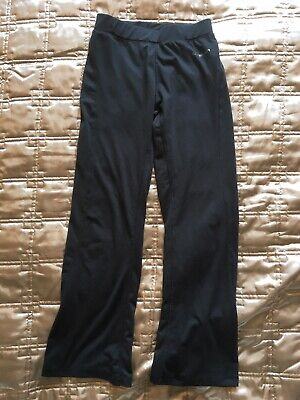 LA gear Grey Stretch Leggings Fitted At Top Loose Fit At Bottom Age 9-10 Years