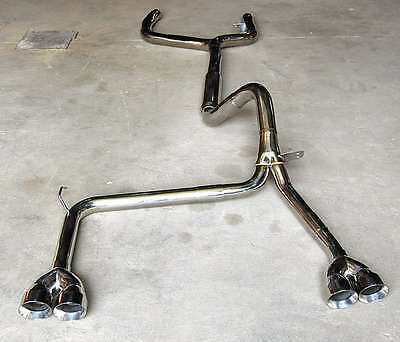 1993-1997 Camaro Trans Am Catback Exhaust Ypipe and TIPS Z28 SS V8 LT1 STAINLESS
