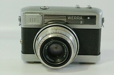 View finder Carl Zeiss Werra 2 with Carl Zeiss Tessar 50mm F2.8 Ref. 311914