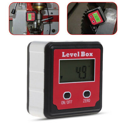 XB-90 Digital Inclinometer Spirit Level Box Protractor Angle Finder Gauge Meter