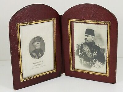 Antique Islamic Ottoman Turkish Album Sultan Mahmoud and Pasha