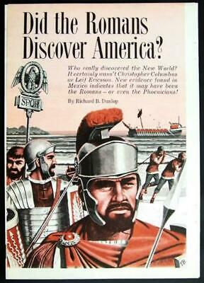 Pre-Columbian Explorers in America Mexico 1963 article