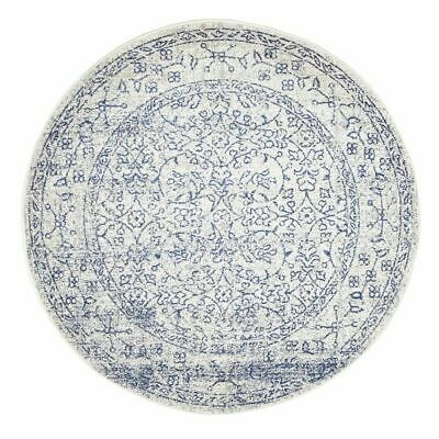 New White Bone Round Art Moderne Belle Rug Network Rugs