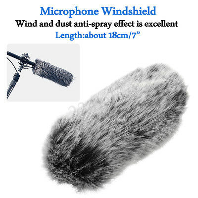 WIND Furry Shotgun Microphone Windshield Windscreen Muff for sony ECM-GZ1M