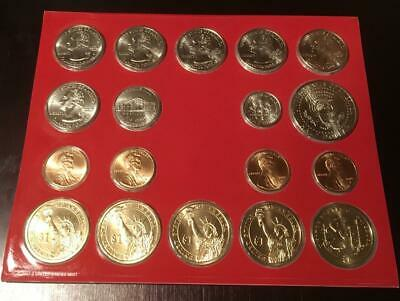 2009  US Mint ANNUAL Uncirculated P and D Coin Set 36 Coins