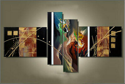 Large Modern Abstract Oil Painting art Canvas Contemporary Wall Art Framed aps15