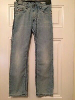 Diesel Kid Blue Denim Jeans Timmen J Jeans Wash 00YE4 Straight Leg 10 Years B4