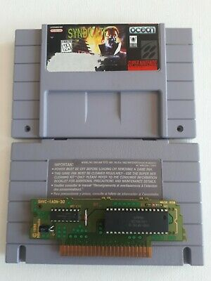 Syndicate, *Very Rare Snes title* (Super Nintendo Entertainment System, 1995)