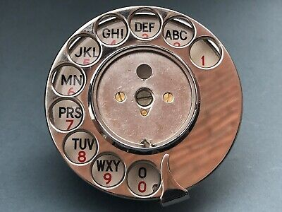Vintage Original Dial 13 C53/2 From A Gpo Bakelite Telephone Phone Excellent