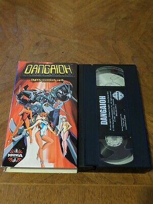 2 ANIME MANGA VHS video tapes Lot English Dubbed, X, Harlock Saga