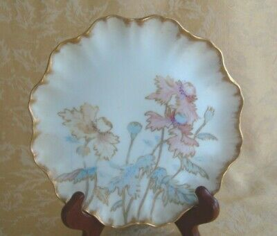 ANTIQUE JEAN POUYAT Limoges France with the JPL Marks Plate
