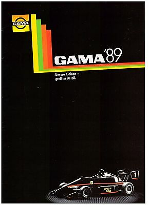 "Gskat Gsga Katalog ""Gama 89"" Sehr Gut/Very Good !"