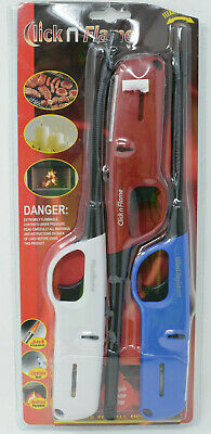 Click n Flame Multi-Purpose Lighters, Child Resistant, Refillable