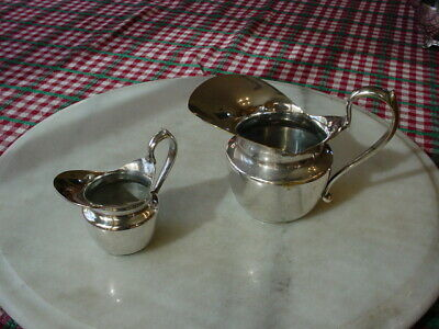 Lot Antique DUROUSSEAU & RAYNAUD Silver Plate Creamer, sauce server, Lg & Small