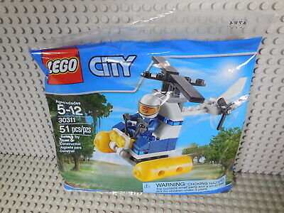 Lego CITY #30311 Helicopter Building Toy Set