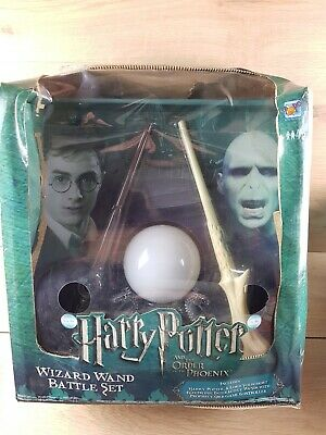 Harry Potter Wizard Wand Battle Set Order of the Phoenix Boxed