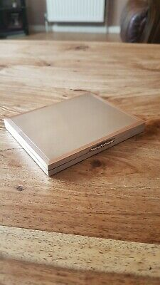 solid silver & Rose Gold 1940s gold smiths & silver smiths cigarette case