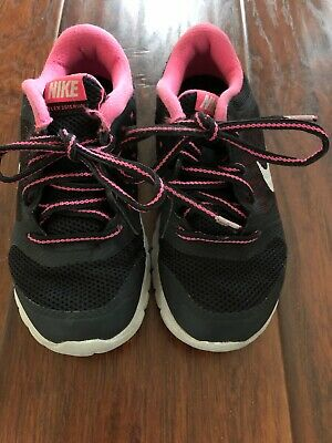 2fb11b822d NEW NIKE AIR Max Vision BLK Pink Youth Little Girl's Sneakers 10.5 ...