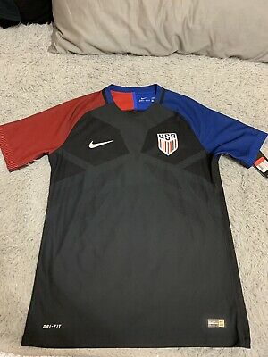 9ea8bc5c3 NWT Nike 2016 Team USA Player Issue Vapor Match Soccer Jersey Size Large