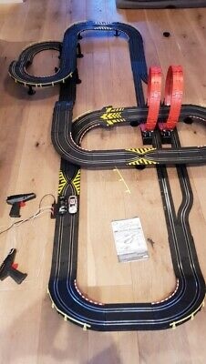 Mercedes Benz Chad Valley 3 in 1 Super Loop Speedway Racing Track scalextric
